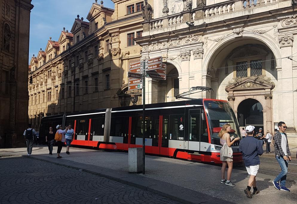Tschechische Straßen Öffentliches Geld
